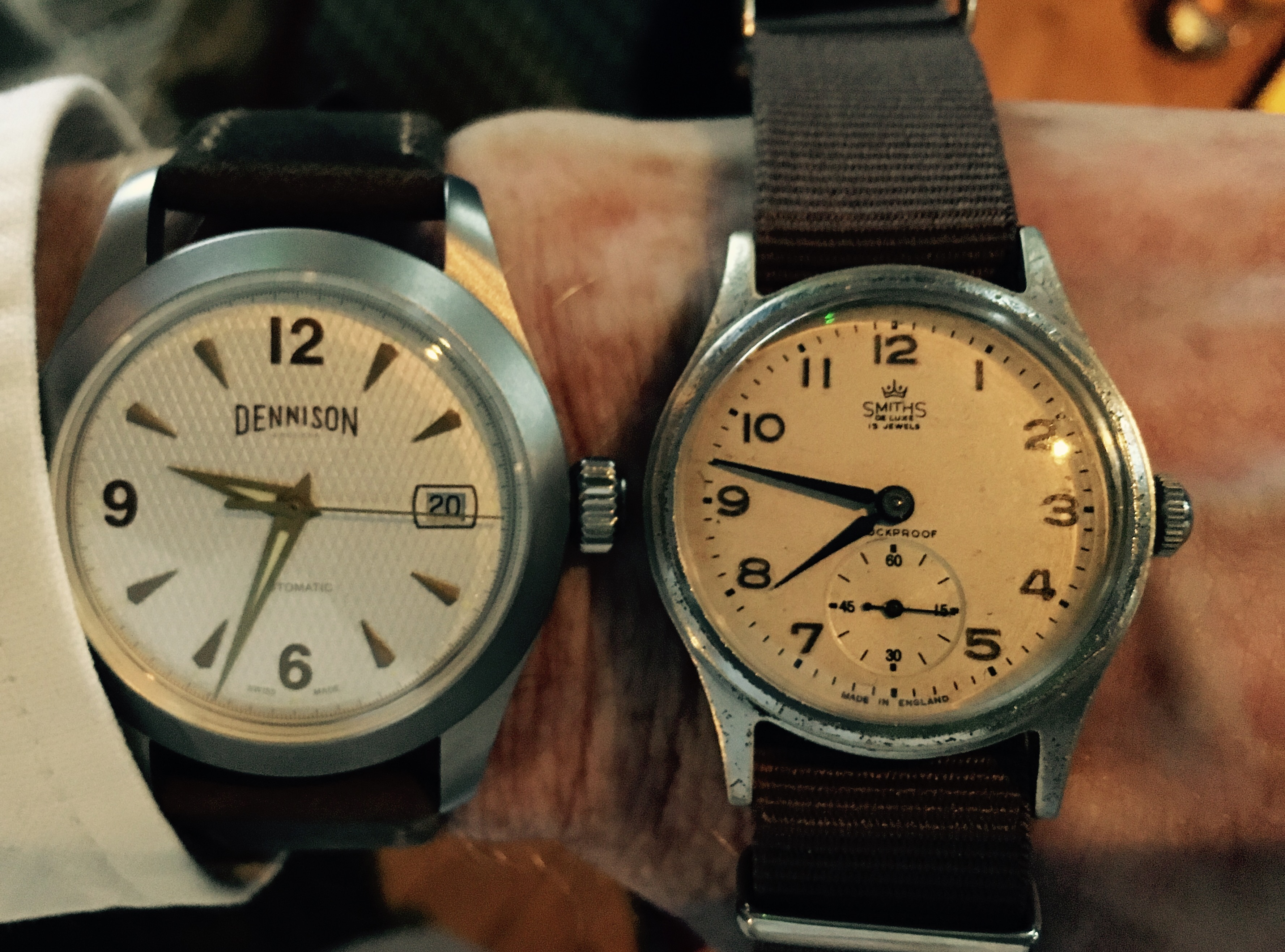 slideshowstop slideshow wrist watch smiths military start watches product vintage