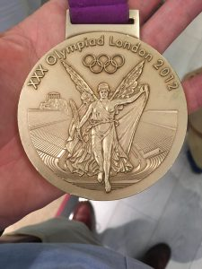 Alex Gregory's 2012 Olympic Gold medal
