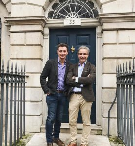 Nick & Giles English at Bremont House
