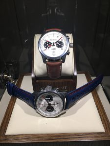 The new white faced Jaguar MKII watches